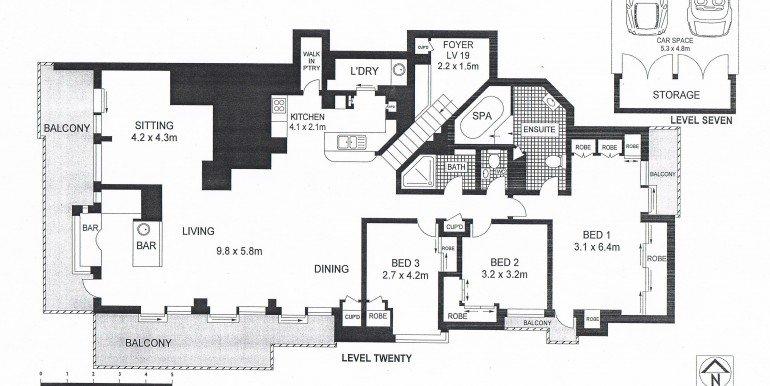 Floor plan lot 168